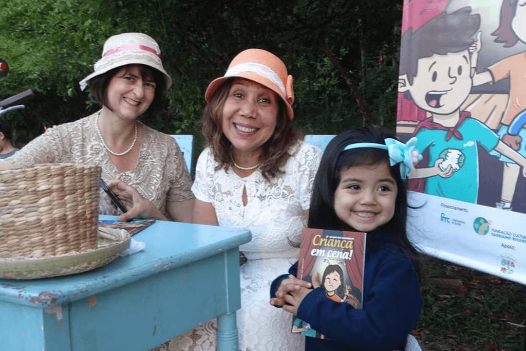 """Evento de Lançamento do Livro """"Criança em cena""""."""