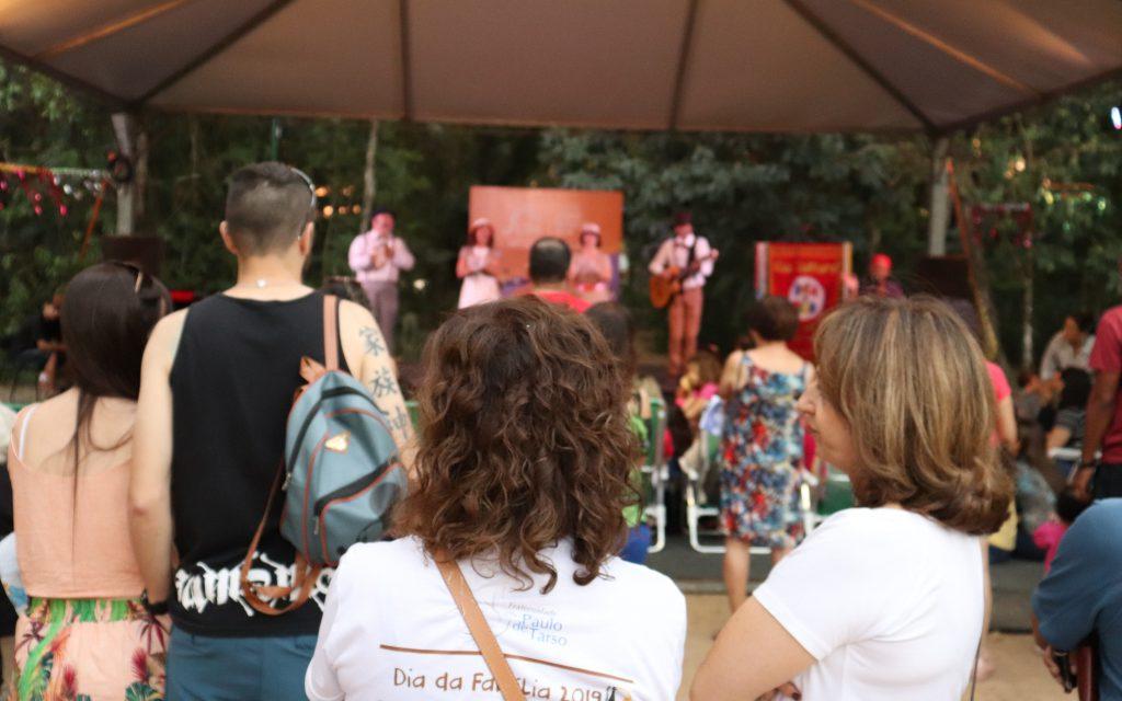 Intervenção no Parque Vicentina Aranha.