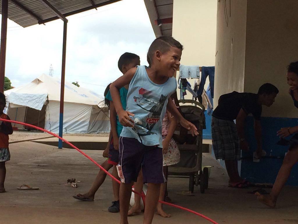 Ações em Abrigo de Refugiados